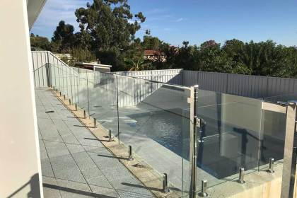 Pool fencing – Willetton
