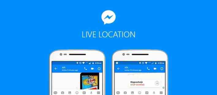 How to Share Live Location in Facebook Messenger