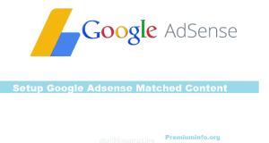 How to Setup Google Adsense Matched Content In WordPress