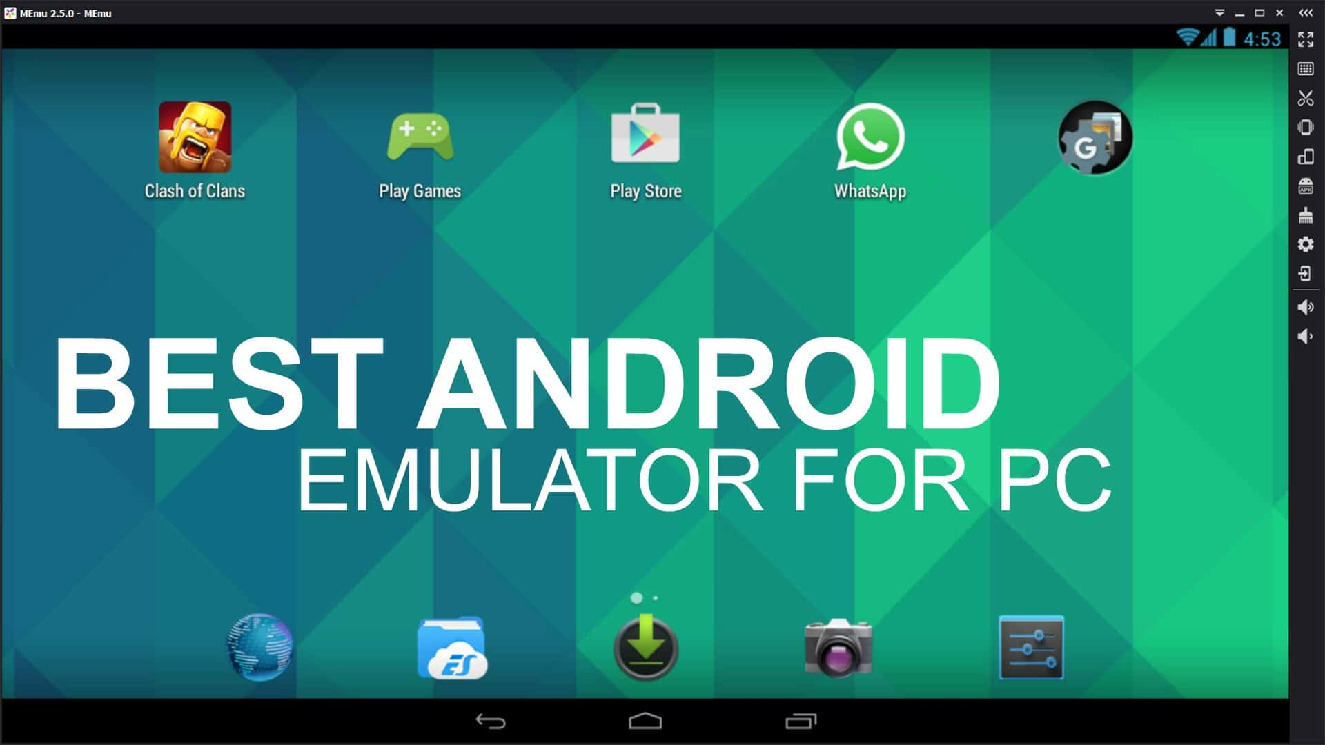 Best android emulators to run apps on pc premiuminfo for Highest r value windows 2017