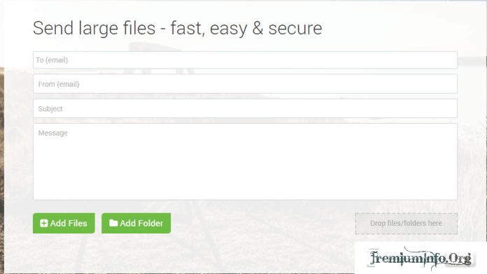send large files online for free
