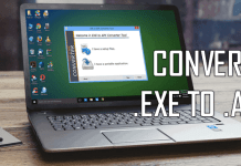 Convert exe to apk using EXE TO APK CONVERTER TOOL Change my software