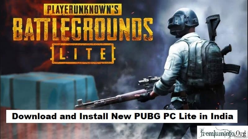 Download And Install Pubg Pc Lite In India Any Country Free