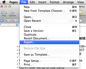 Convert Pages To Word Document