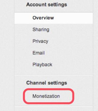 Monetize Youtube