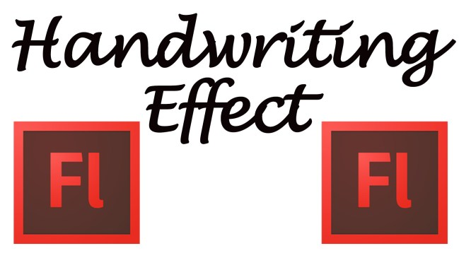 Adobe Flash Tutorial - How To Create A Handwriting Effect