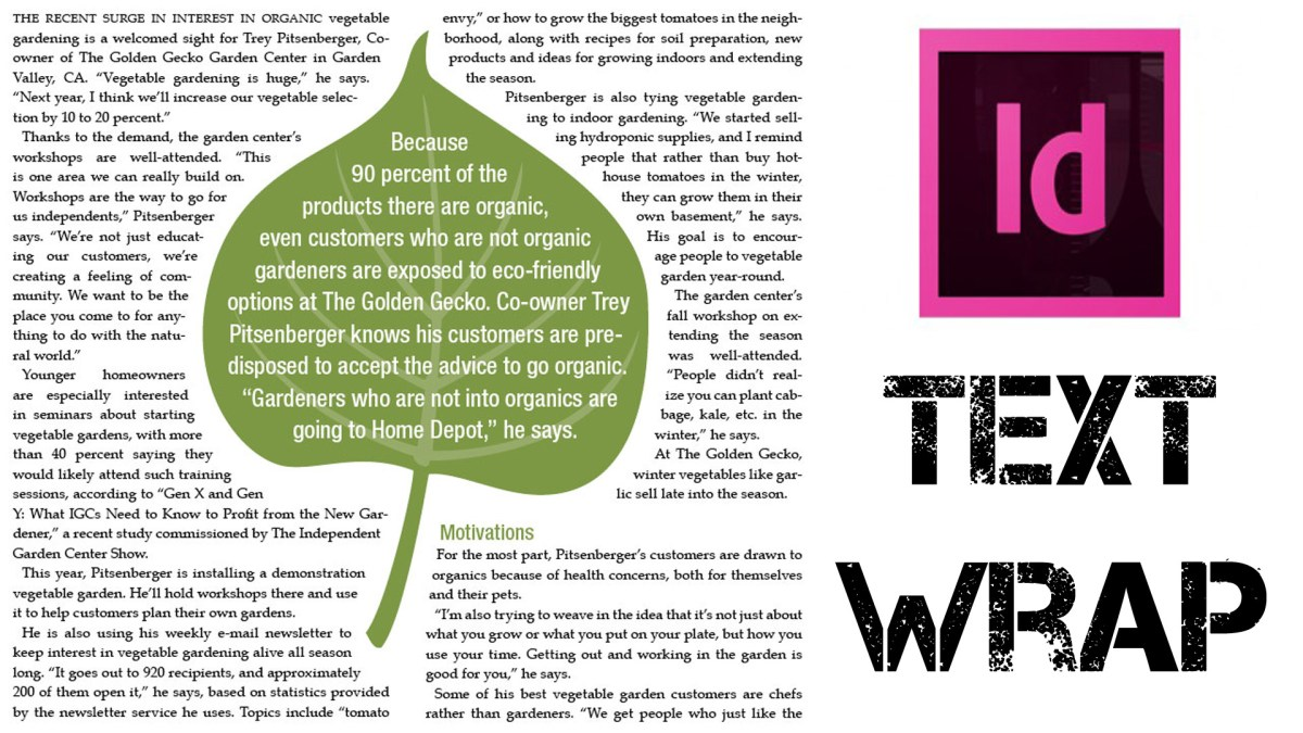 Adobe indesign tutorial understanding how text wrap works publicscrutiny Choice Image