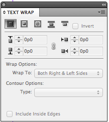 text wrap tutorial