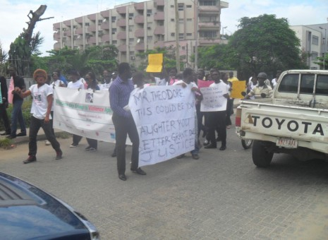 Fierce protest in Lagos over Abia gang rape
