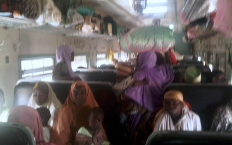 Second Class coach Train Nigeria