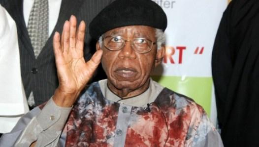 Chinua Achebe's last visit to NIgeria, 2009