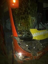 Crashed in the Night on Lokoja -Abuja road