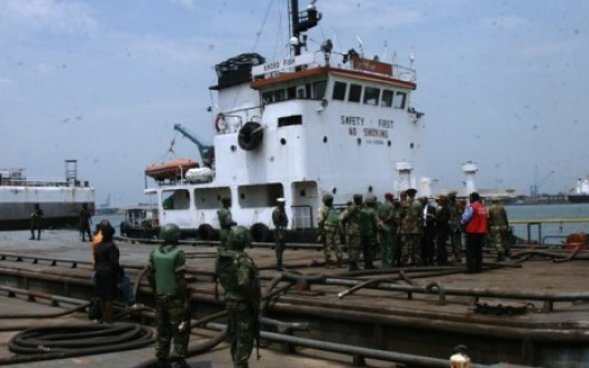 Oil Theft ARMY HANDS OVER VESSEL, 25 SUSPECTS TO EFCC 10
