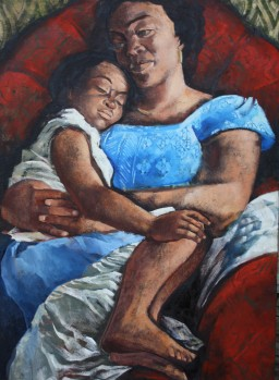 polly alakija, mother and child