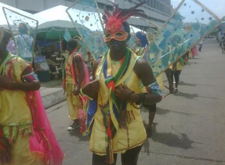 Lagos carnival showcases magnificent costumes, designs, acrobatics