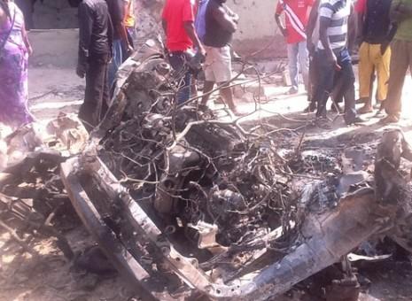 Madala church bomb blast in pictures