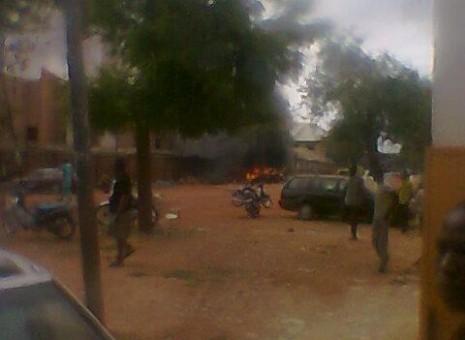 PHOTO NEWS: Multiple blasts rock churches in Zaria