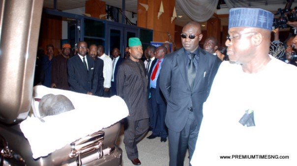 PHOTOS: Valeditory session for late Senator Dantong