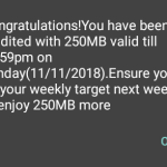 Airtel 2G Data Bundle Plan #200 for 2GB And 6GB For #500
