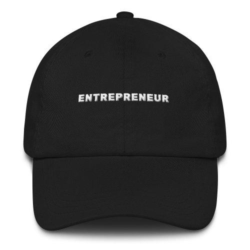 Entrepreneur Cap (Black)