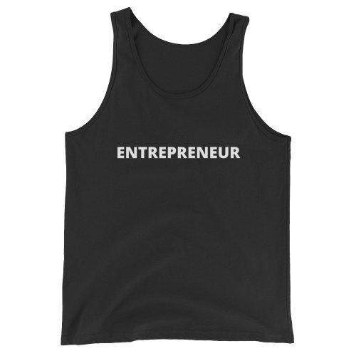 Entrepreneur Unisex Tank Top (Dark)
