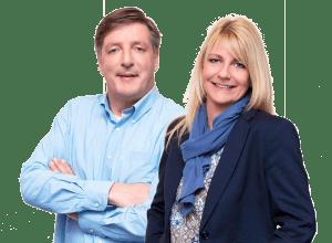 Elzo Prenger en Angelique Stadman - Prenger Makelaars Enschede