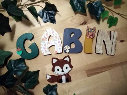 Gabin - Thème forêt automne