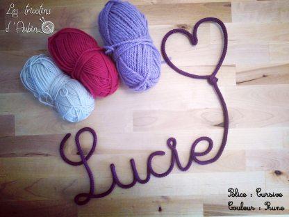 Lucie en tricotin