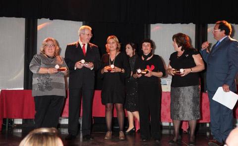 Cena de navidad de la Asociación Akima de Málaga