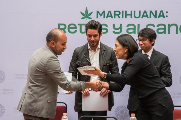 Impulsarán diputados locales del PVEM regulación de la marihuana