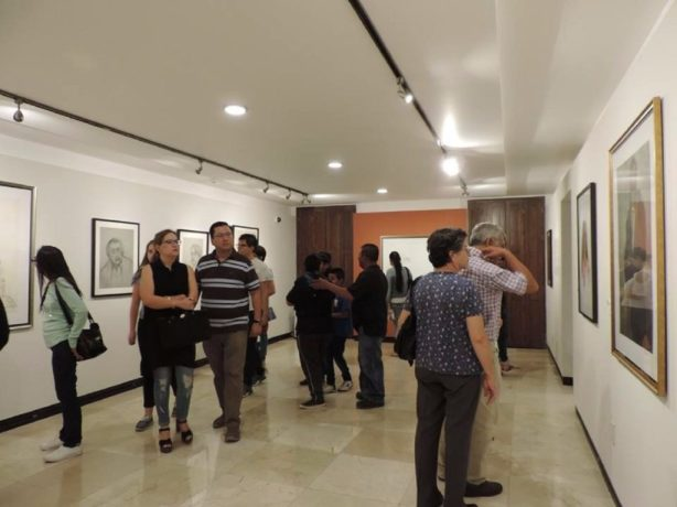 Exhiben obra de Luis Nishizawa en Celaya, Guanajuato