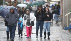 Prevén tormentas muy fuertes y descenso de temperatura a lo largo del país