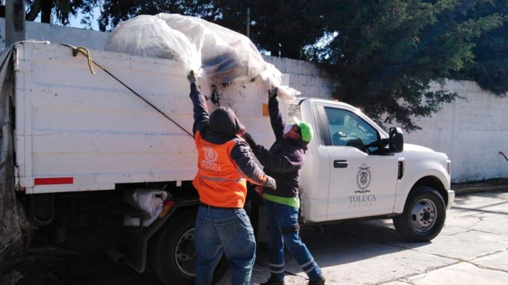 Toluca promueve la recolección adecuada de basura