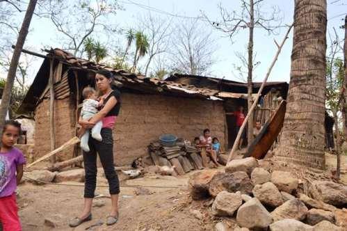 La pobreza se ha intensificado, sobre todo en el área rural de Guatemala desde donde más migra la gente. (Foto Prensa Libre: Hemeroteca PL)