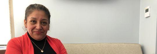 Victorina Morales, en Washington DC. (Foto tomada de UsaToday.com)