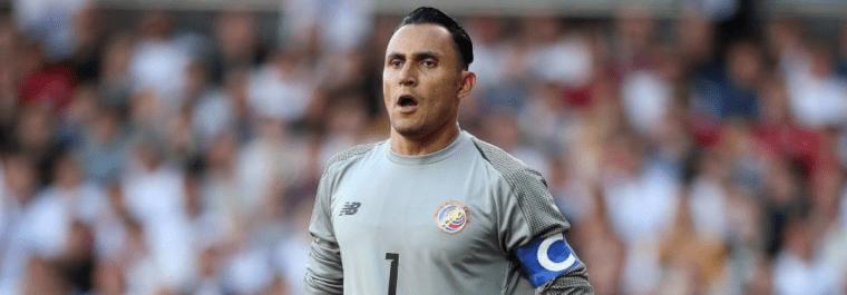 El portero del Real Madrid liderará a la Selección de Costa Rica contra Guatemala. (Foto Prensa Libre: Hemeroteca PL)