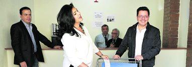 Uno de los partidos políticos que ha mostrado una estrategia, pero que consideran no ha dado los resultados esperados es la de Creo.  (Foto Prensa Libre: Hemeroteca PL)
