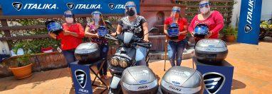 Italika apoya el emprendimiento durante la crisis sanitaria. Foto Prensa Libre: Cortesía