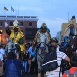 """Con los """"Reyes Magos"""", Trujillo clausura el Festival Navideño Luces y Colores"""