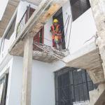 Empezaron trabajos de rehabilitación de viviendas en Villa El Salvador