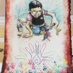 Presentan mural que refleja la lucha en silencio contra las enfermedades raras en el país