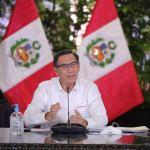 Cuarentena por coronavirus se amplía hasta el 26 de abril, anuncia presidente Vizcarra