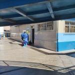 Hospital Víctor Lazarte Echegaray de EsSalud La Libertad intensifica trabajos de desinfección y fumigación para prevenir el COVID-19