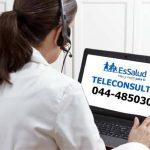 Hospital Virgen de la Puerta de EsSalud La Libertad implementa el Servicio de Teleconsulta en las diferentes especialidades