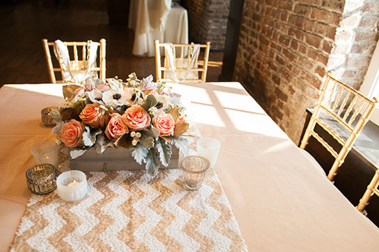 Elegant Low Wedding Centerpiece Inspiration PreOwned
