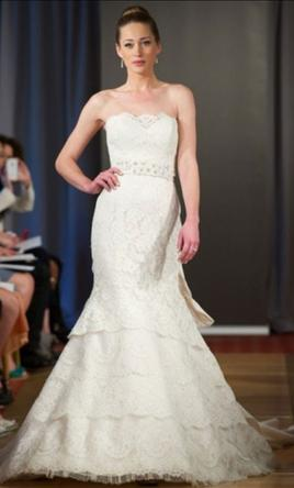 Search Used Wedding Dresses   PreOwned Wedding Gowns For Sale Ines Di Santo Roche 4