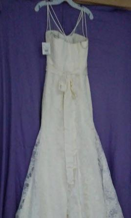 Vera Wang White VW351227 Ivory   375 Size  6   New  Un Altered         Vera Wang White VW351227 Ivory 6