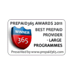 Best Large Prepaid Provider Award for PCT at 2011 Prepaid365 Awards