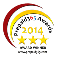 Prepaid365 Awards 2014 Winners Badge