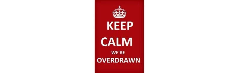 Quarter of Brits are overdrawn